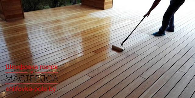 лакировка деревянных полов